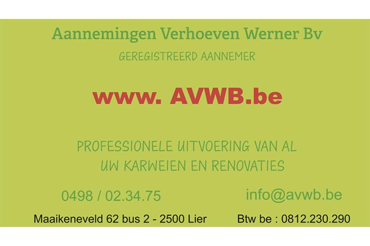 Aannemingen Verhoeven Werner Bv uit Lier