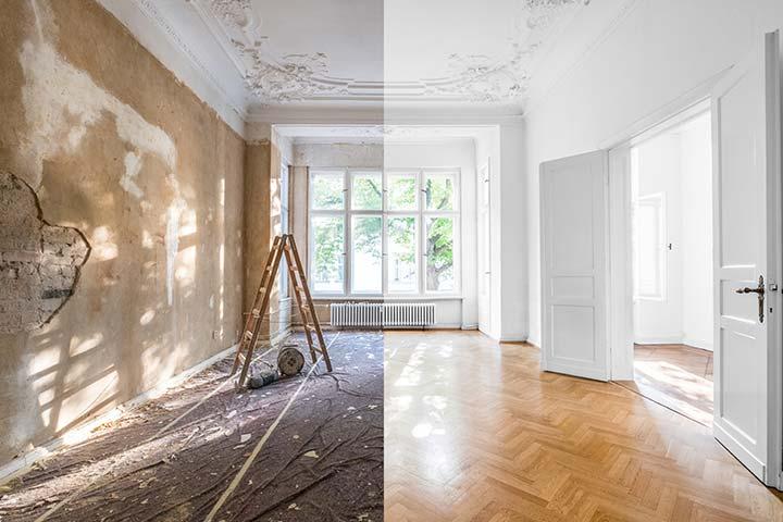 Renovatie van appartement